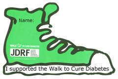 donated to JDRF